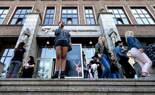 HvA: tien procent meer studenten én nog steeds de grootste