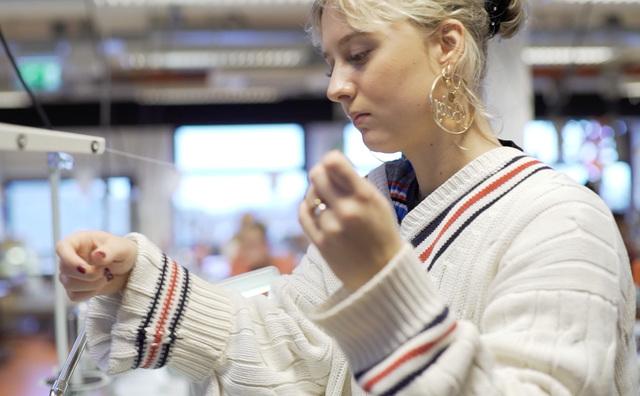 Zweten in de sweatshop van Amfi