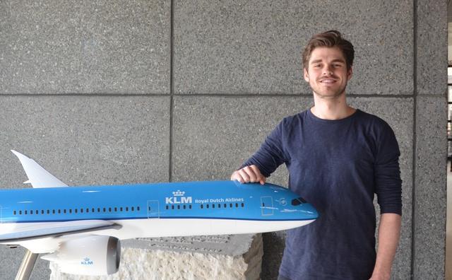 KLM-stagiair Ruben mocht met zijn baas mee naar Panama