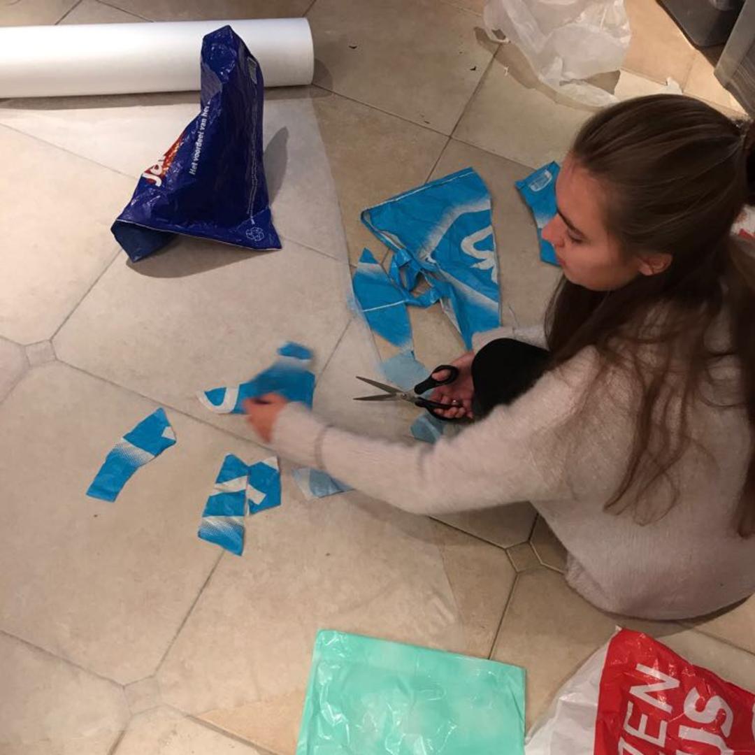 Hippe Hvana Naar Boodschappentas Jas Van Plastic NO8v0wmn