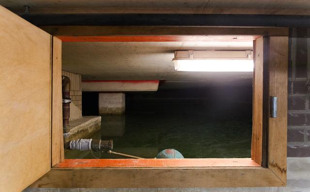Gekke plek op de HvA: het waterbassin