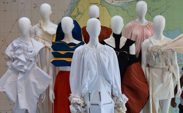 Mode-inspiratie van de zeebodem