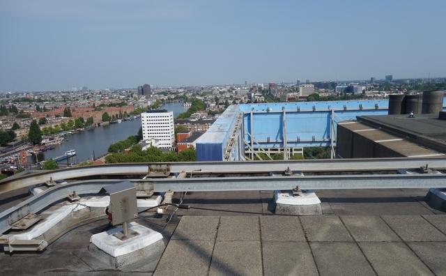 Gekke plek op de HvA: de vijftiende verdieping van de Leeuwenburg