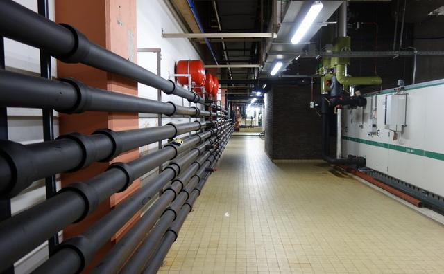 Gekke plek op de HvA: het plofgat op de Leeuwenburg