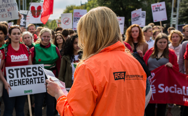 Ook bestuur Amsterdamse studentenvakbond kan geen hbo'ers vinden
