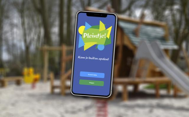 Drie studenten maken een app die kinderen weer laat buitenspelen