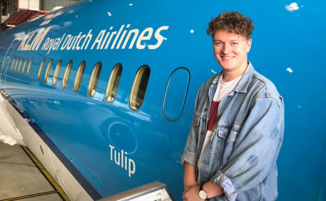 Stage: Jurriaan verzamelde bijzondere verhalen voor KLM