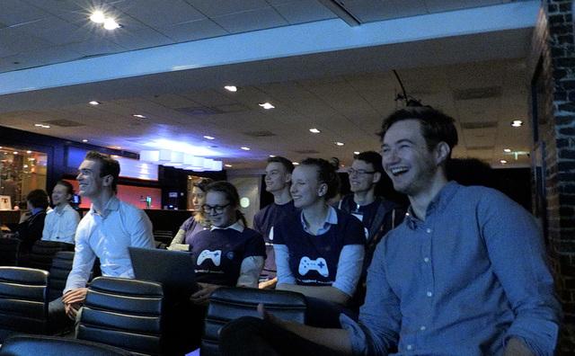 Deze studenten hielpen de Arena met crowd management