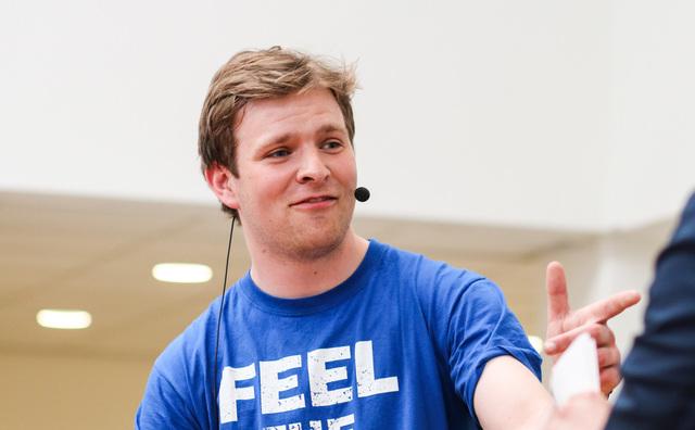 UvA-student Tijmen de Vos (22) is de nieuwe Asva-voorzitter