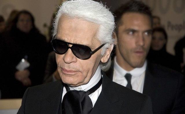'Karl Lagerfeld was een perfecte leraar voor Amfi geweest'