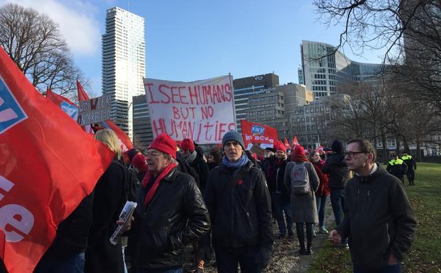 De HvA steunt de staking van 15 maart niet: 'Er is geen arbeidsconflict'