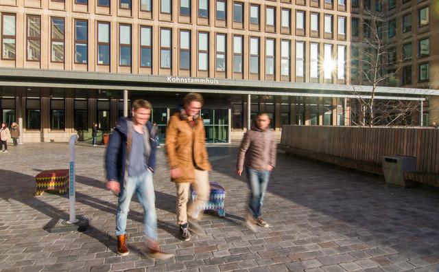 Record: nog nooit begonnen er zoveel nieuwe studenten aan de HvA