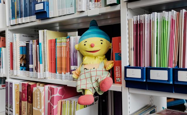 De avontuurlijke handpop en meer verhalen uit de KSH-bibliotheek