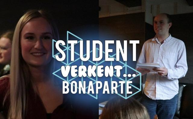 Student Verkent: op bezoek bij debatvereniging Bonaparte