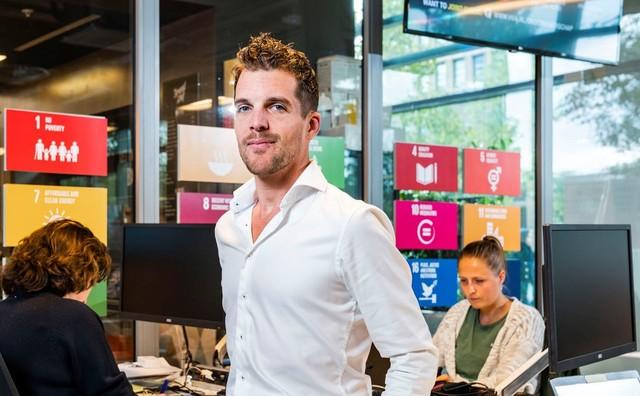 Bart strijdt onvermoeibaar voor duurzaamheid: 'Het gaat ook over jouw leven'