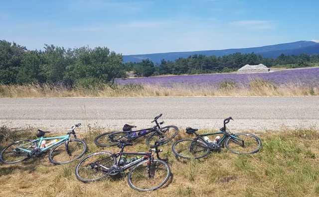 Vakantie met de vereniging: met noodweer de Mont Ventoux op