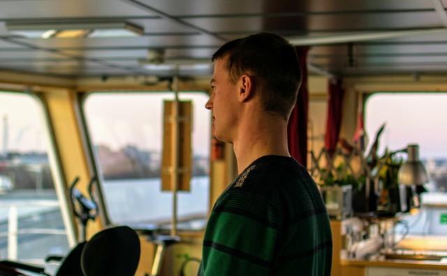 Stage: Udo woonde en werkte vier maanden op zee