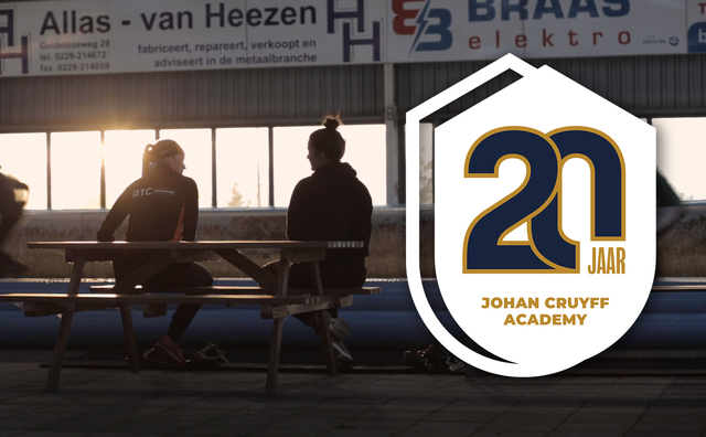 Twintig jaar Johan Cruyff Academy: oud-topsporter Laura van Velzen