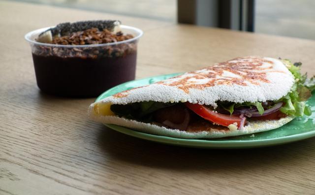 Swingende Braziliaanse burrito als vervanger van saaie bruine boterham