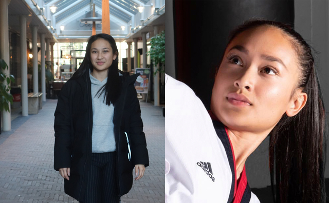 Soraya is student én wereldkampioen taekwondo