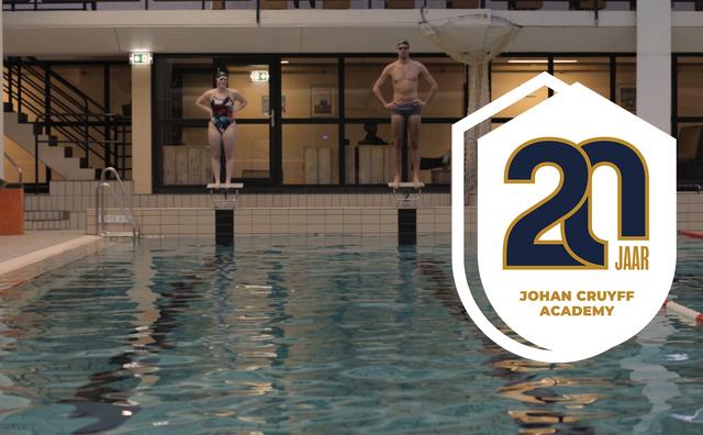 Twintig jaar Johan Cruyff Academy: oud-topsporter Joost Reijns