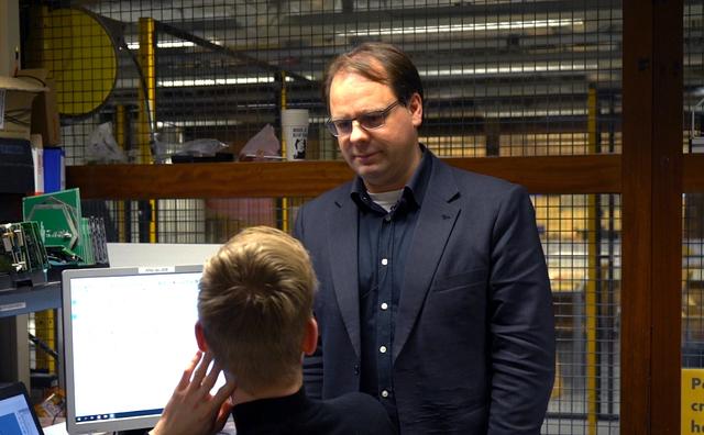 HvA'ers van het jaar: Jan-Derk staat dag en nacht klaar voor zijn studenten