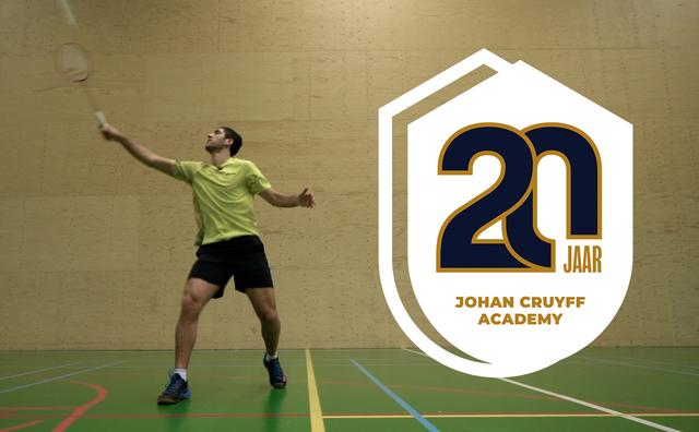 20 jaar Johan Cruyff Academy: 'Vluchtelingen willen door met hun carrière'