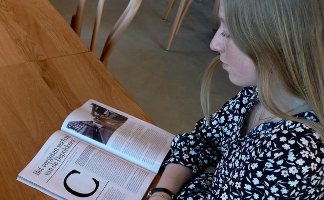 Stage: Esmee schrijft verhalen voor National Geographic