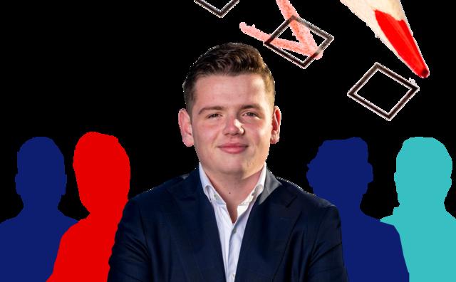 Student op de kieslijst: Christiaan Peetoom