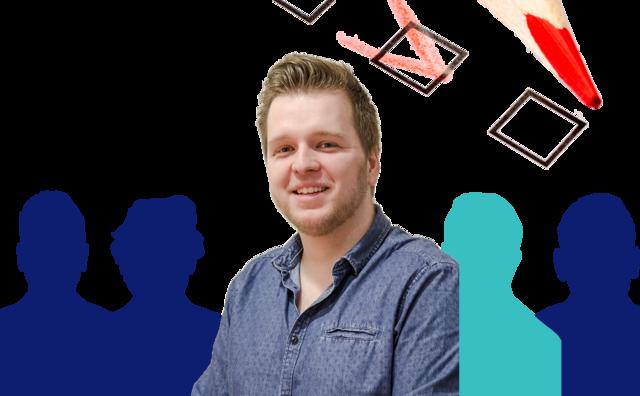 Student op de kieslijst: Bram Buskoop