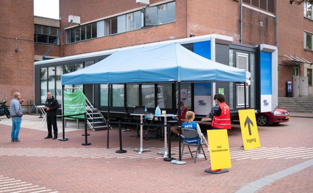 Vaccineren kan nu ook bij HvA: GGD gaat prikken op de campus