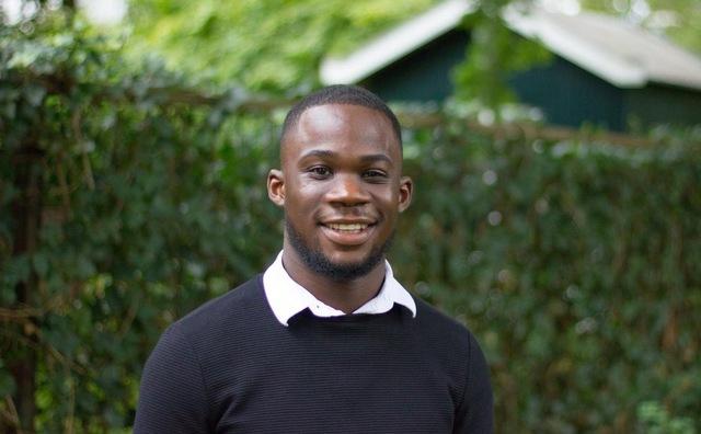 Fernon Longfur zit een jaar lang namens studenten in HvA-bestuur