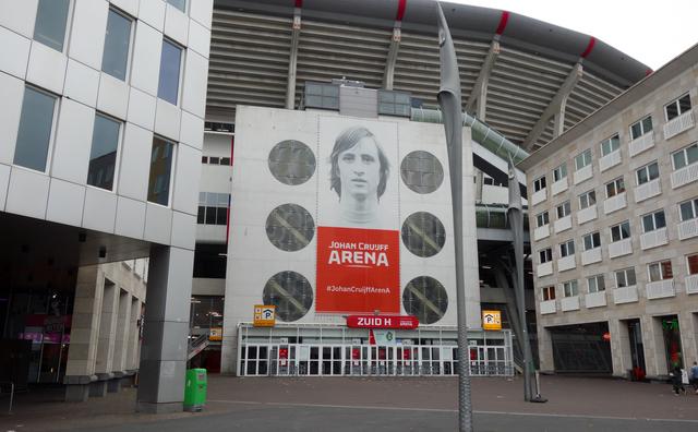 De doorgeefcamera: 'Als Ajacied vind ik dit een prachtig stadion'