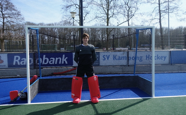 Hockeyer Hidde: 'Sport staat op nummer één en studie op twee'