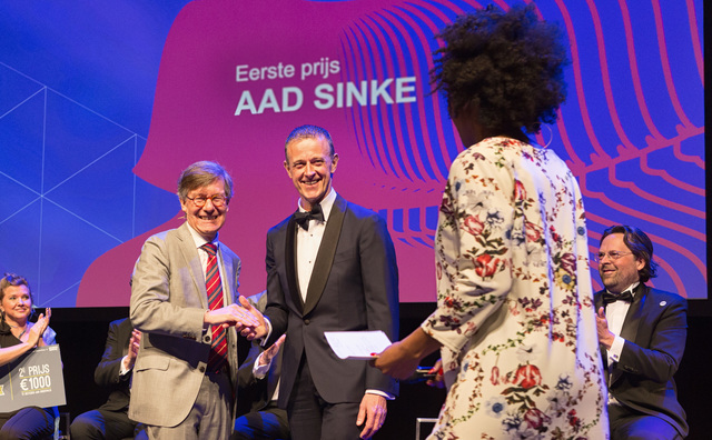 HvA kiest Aad Sinke als docent van het jaar op #OWC2018