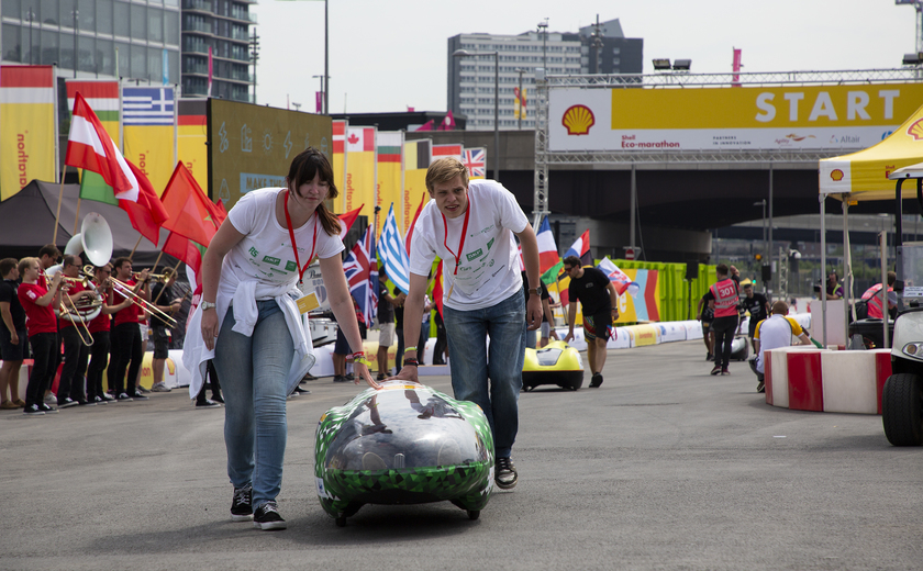 Podcast: een speciale Nieuwsupdate over de Eco-marathon in Londen
