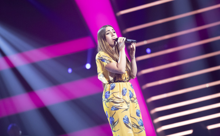 Céline deed auditie bij The Voice: 'Ik schrok me rot toen Lil' Kleine draaide'