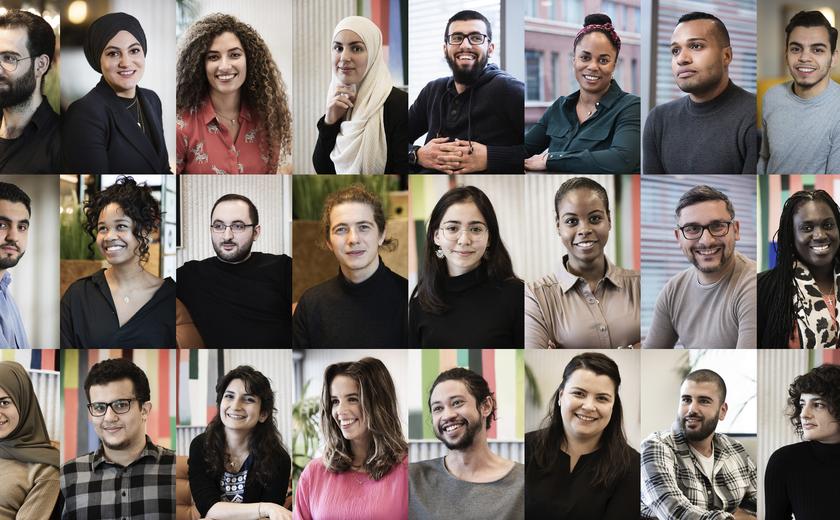 Trainees Halima en Samir verkozen tot beste docent van eigen opleiding
