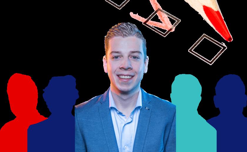 Student op de kieslijst: Joey Leeuwinga