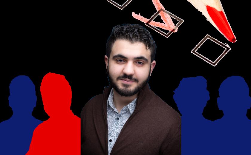 Student op de kieslijst: Achraf El Johari