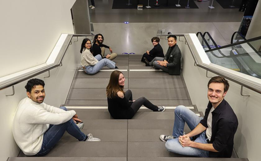 Zeven studenten gaan de diverse HvA nu ook inclusiever maken